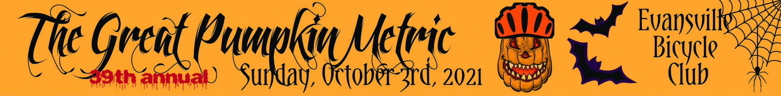Great Pumpkin Metric Banner